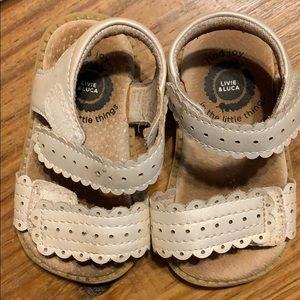 Livi and Luca sandals